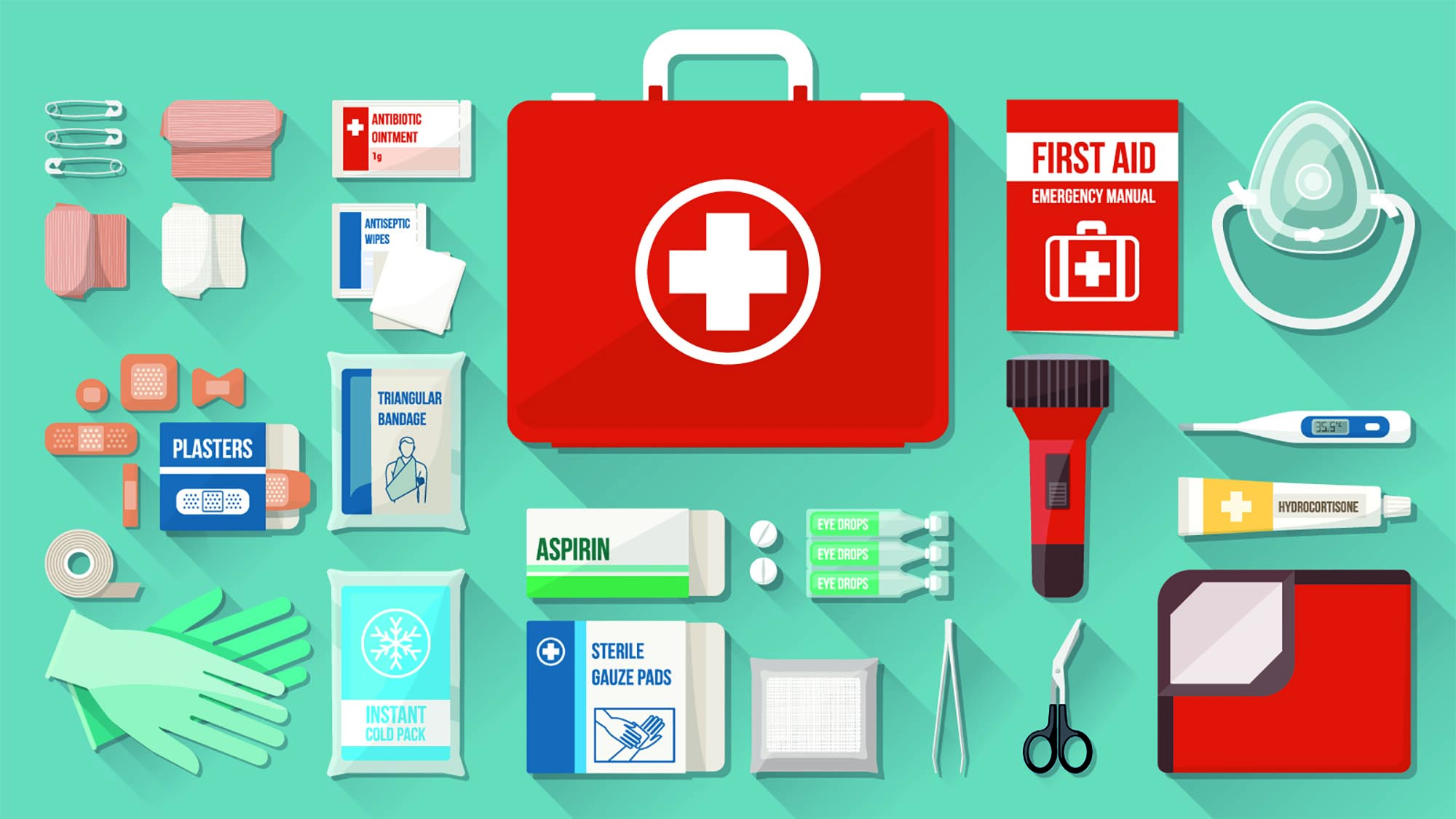 Why every home in North Queensland needs a first aid kit