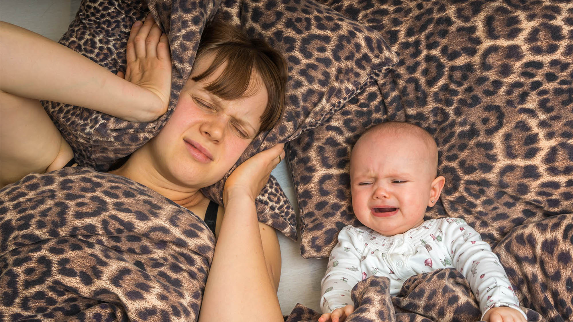 How your newborn can trigger sleep and stress disorders