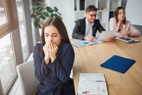 Calanna Pharmacy - 5 ways to keep your office flu free blog image