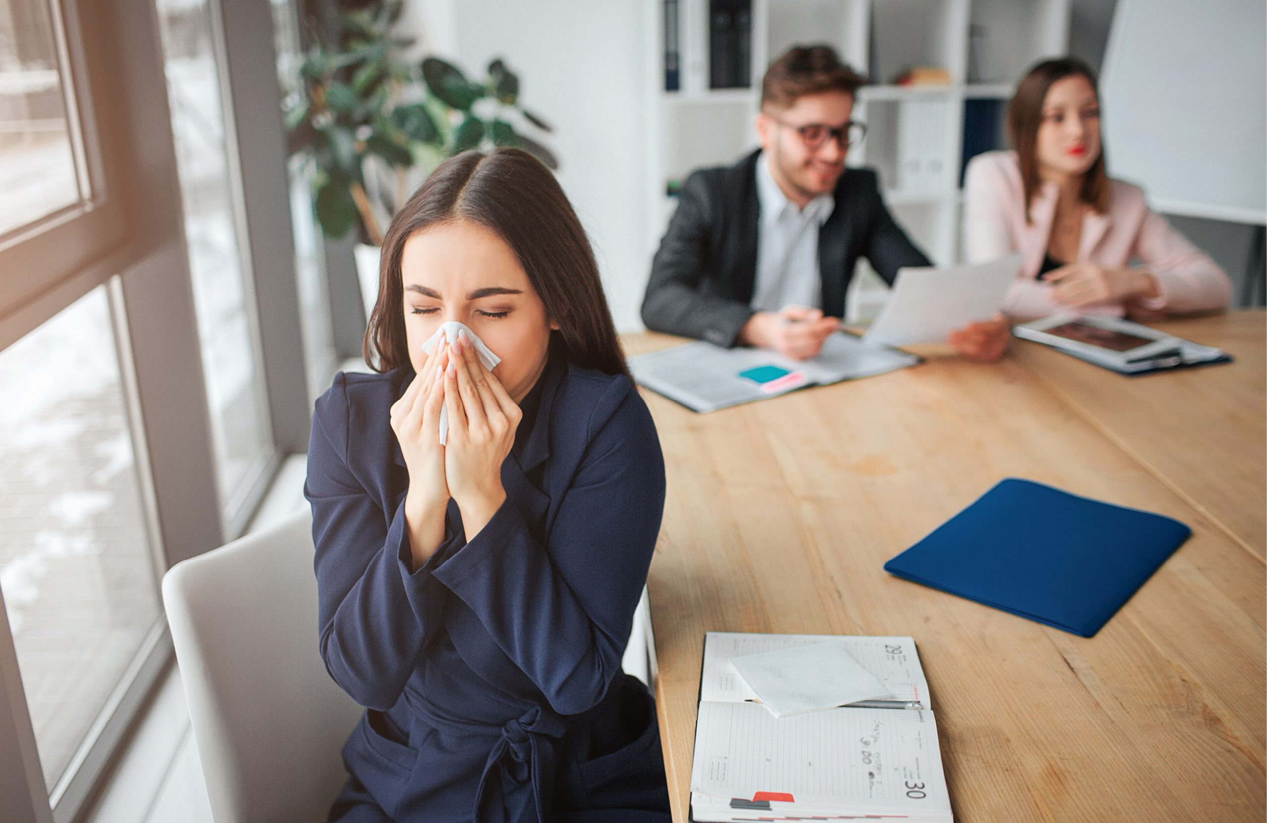 5 Ways to Keep Your Office Flu Free